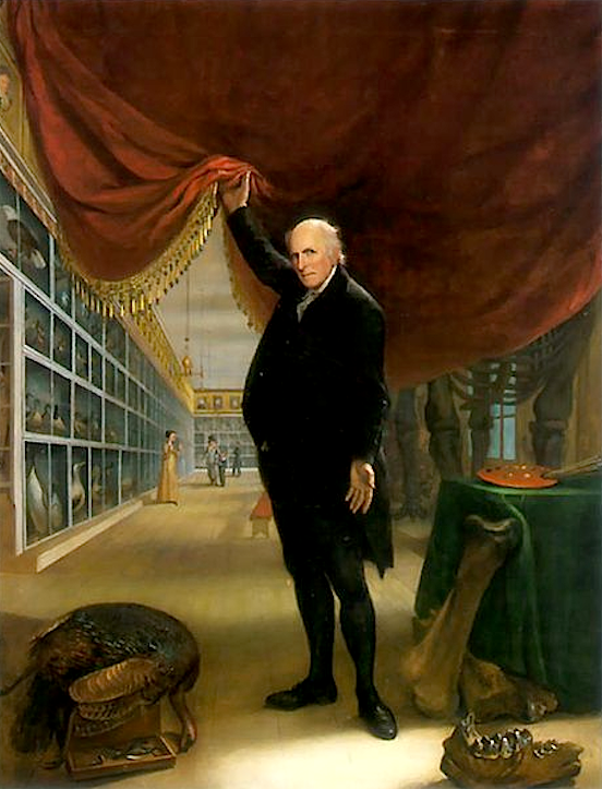 C.W.Peale_The Artist in His Museum