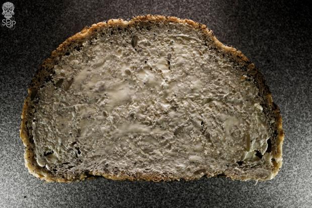 bread slice butter