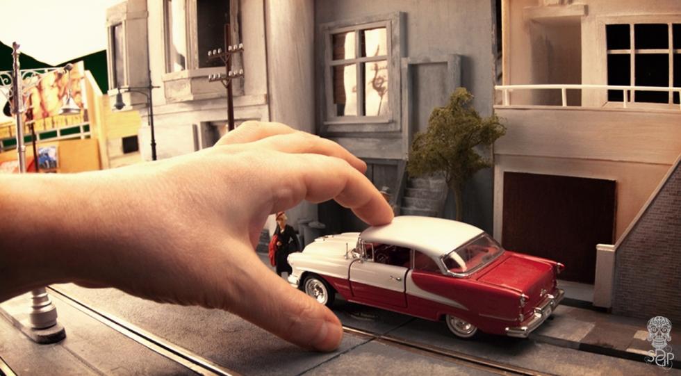 Bullitt - fingerplanting a car