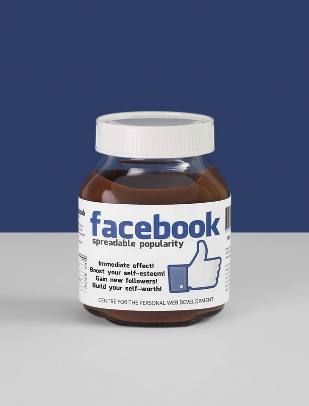 Facebook Nutella by Valerio Loi