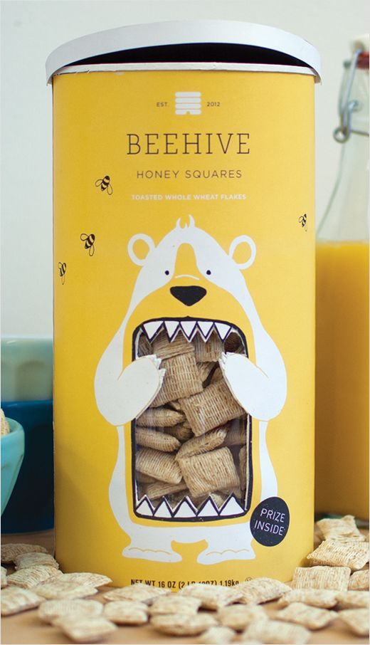 Beehive Honey Squares by Lacy Kuhn