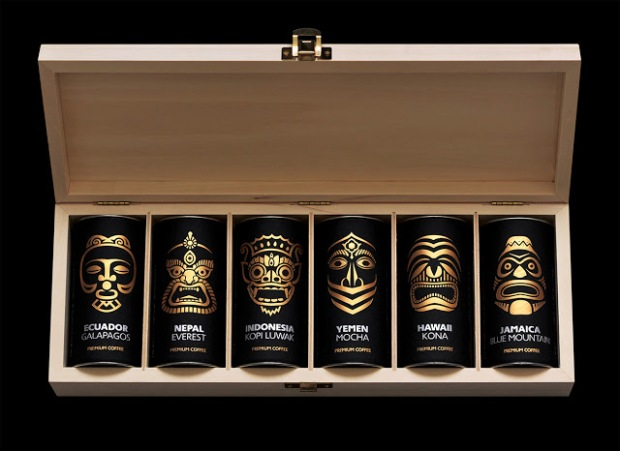 Exotic Coffee Collection by Artemov Artel Design studio