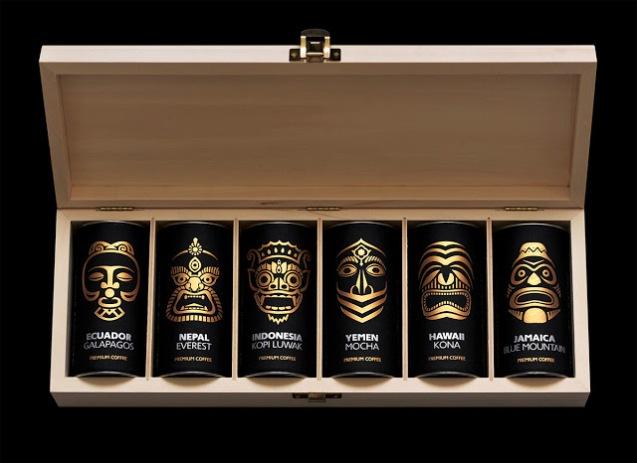 Exotic Coffee Collection by Artemov Artel Design studio