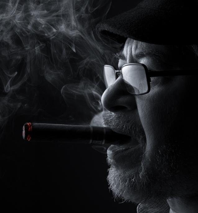 Smoke and Light by Michael Woloszynowicz