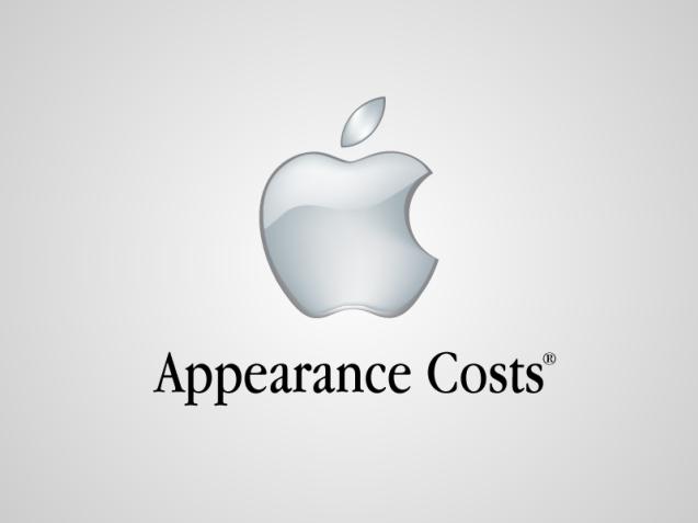 Apple - Appearane Costs