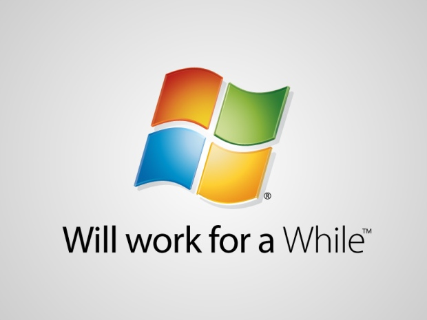 Microsoft - will work for a while