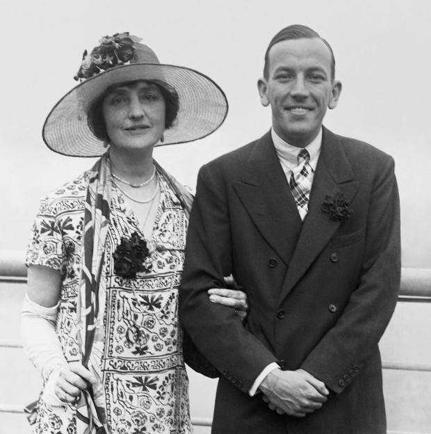 Lilian Braithwaite & Noel Coward
