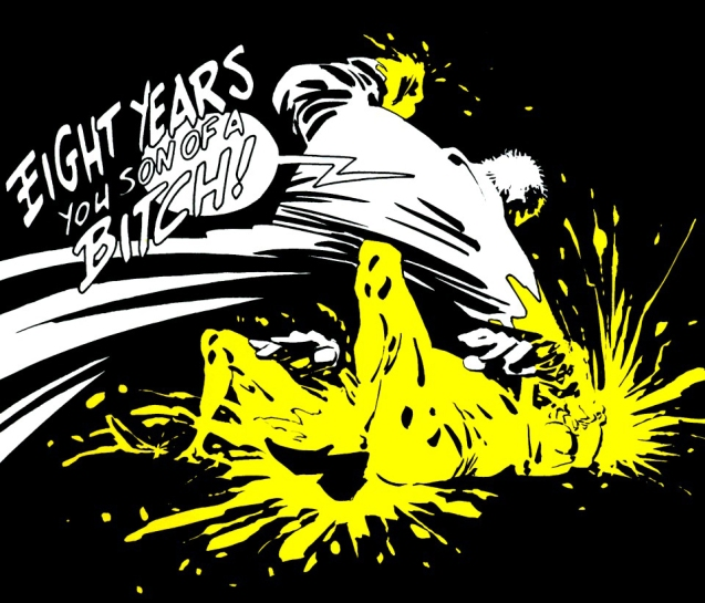 Eight years - Sin city - Frank Miller
