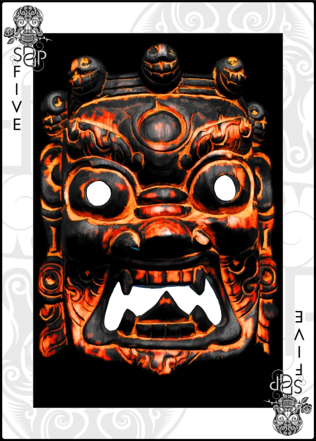 Five card - Mask of Obscenity 2
