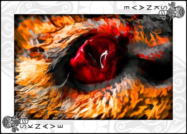 Knave card - eye