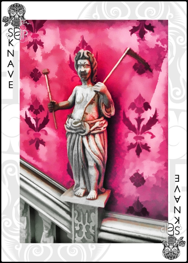 Knave card - Medusa
