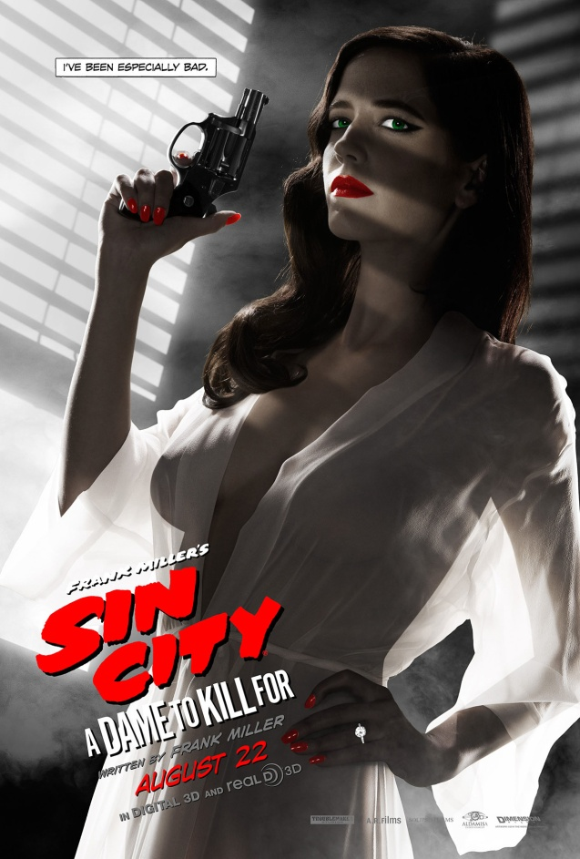 Sin City - Eva Green - poster