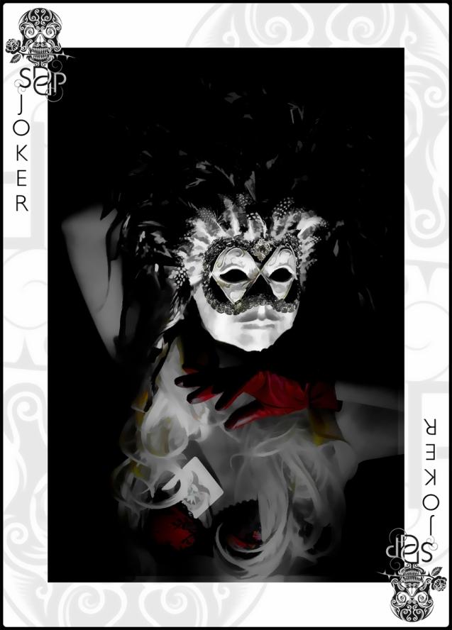 Venetian Joker Card