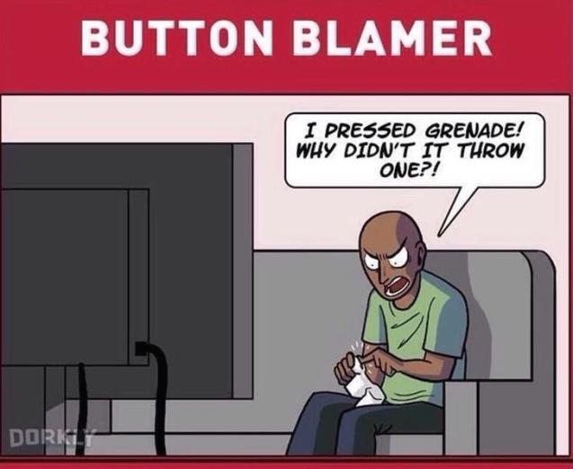 Button Blamer