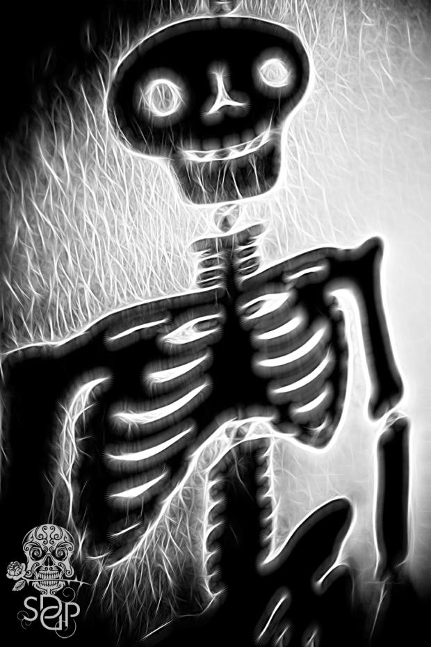 skeleton smile