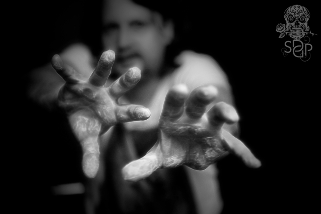 Plastered Hands