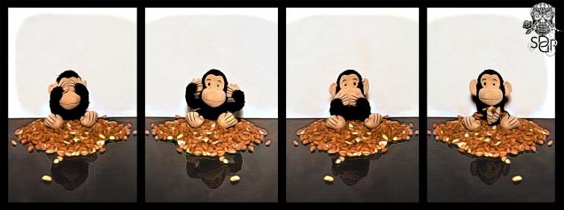 Monkey See Hear Speak Do