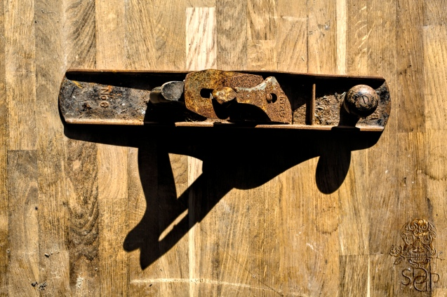 Rusted Lathe